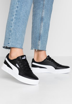 CARINA  - Sneakers laag - black/white