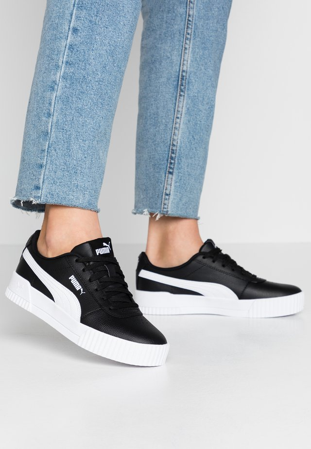 CARINA  - Sneaker low - black/white