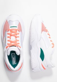 Puma - STORM - Trainers - white/gray violet - 3