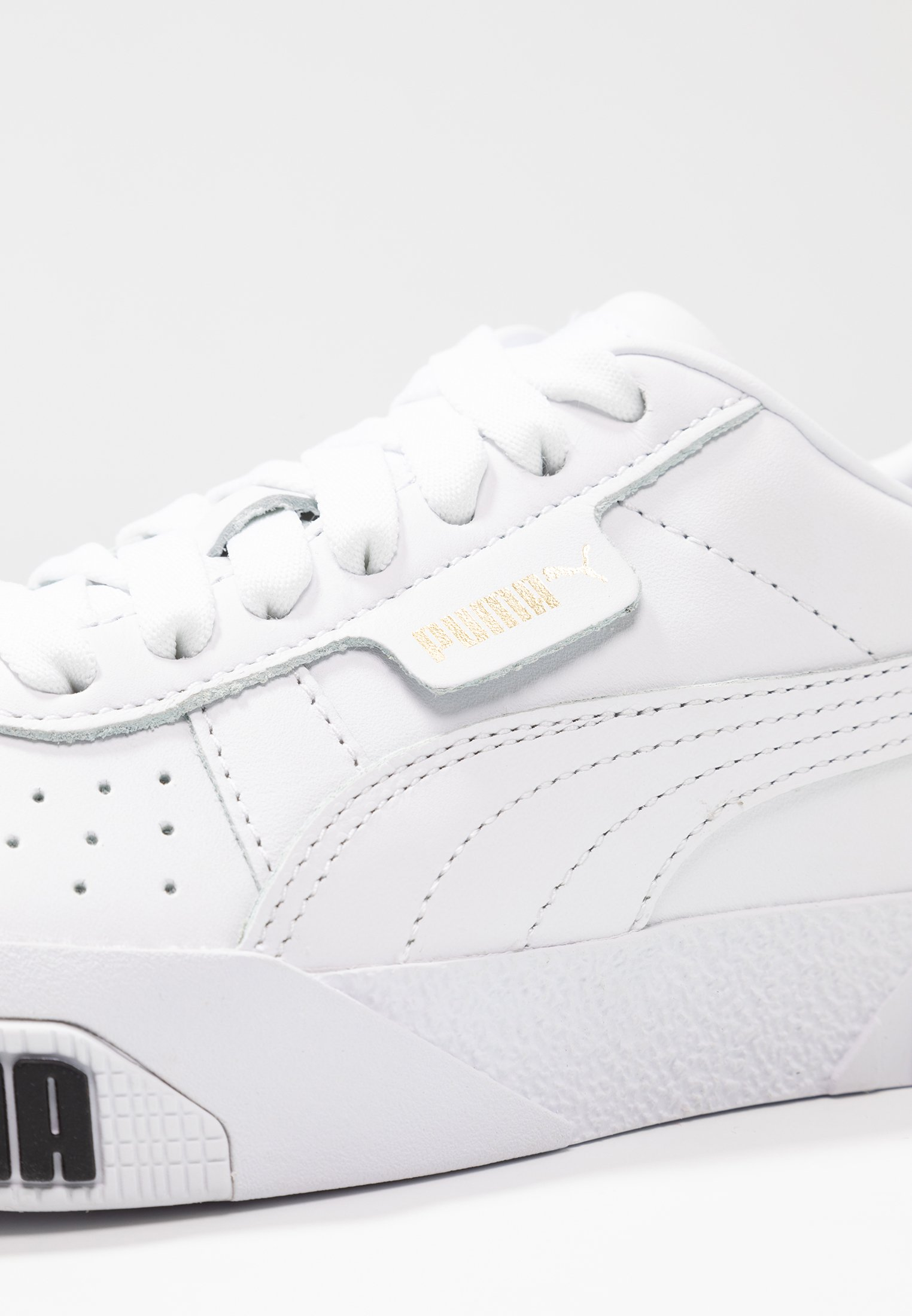 CALI BOLD - Trainers - white/metallic gold
