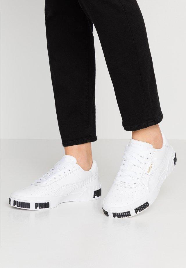 CALI BOLD - Sneakers - white/metallic gold