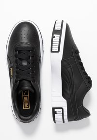 Puma - CALI BOLD - Trainers - black/metallic gold - 3