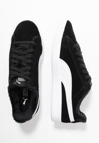 Puma - VIKKY V2 - Baskets basses - black/white/silver - 3