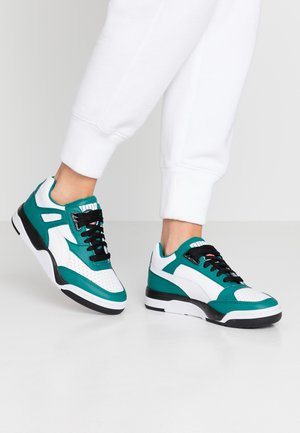 PALACE GUARD BLOCK - Trainers - teal green/white