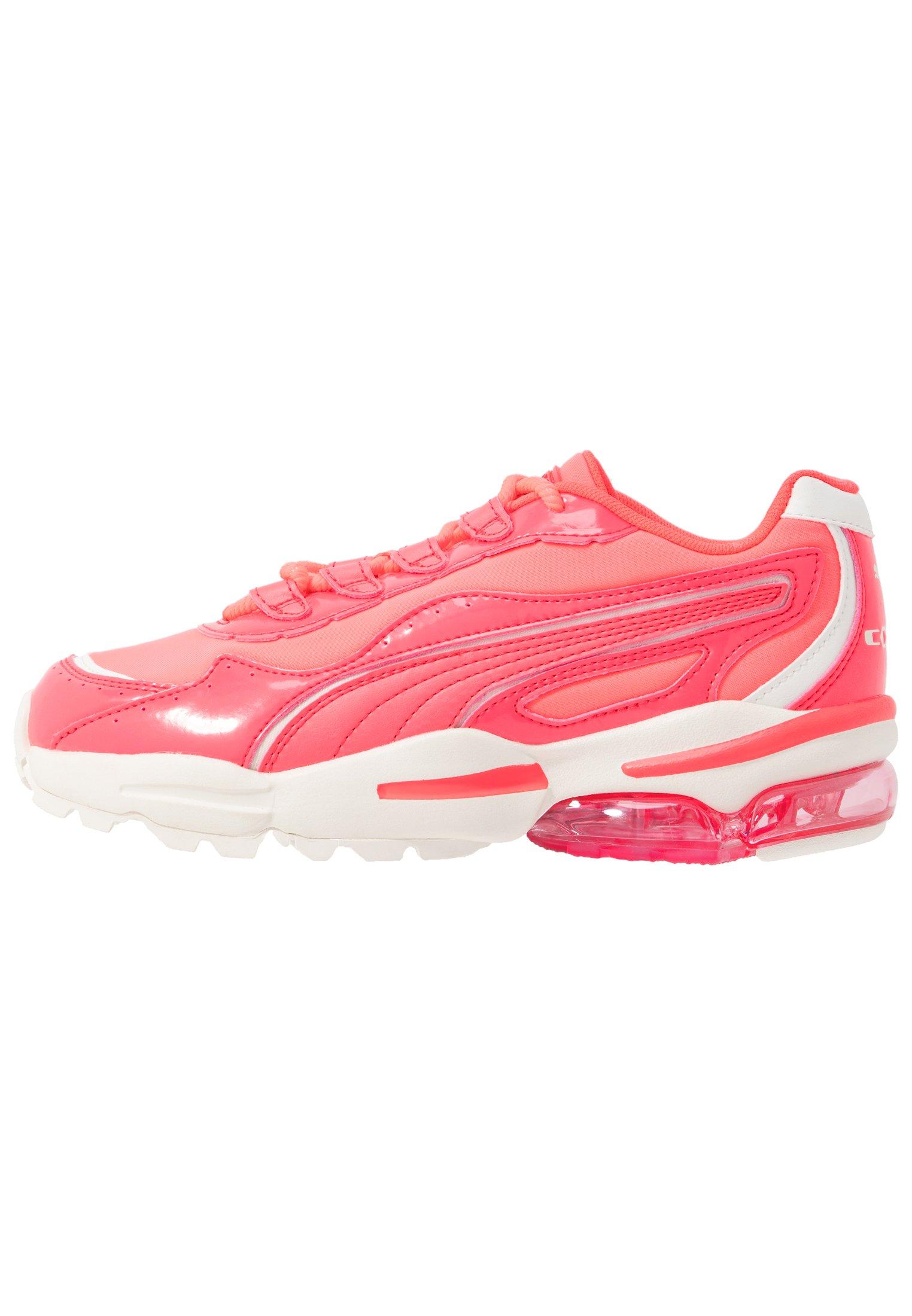 CELL STELLAR NEON - Sneakers laag - pink alert/heather