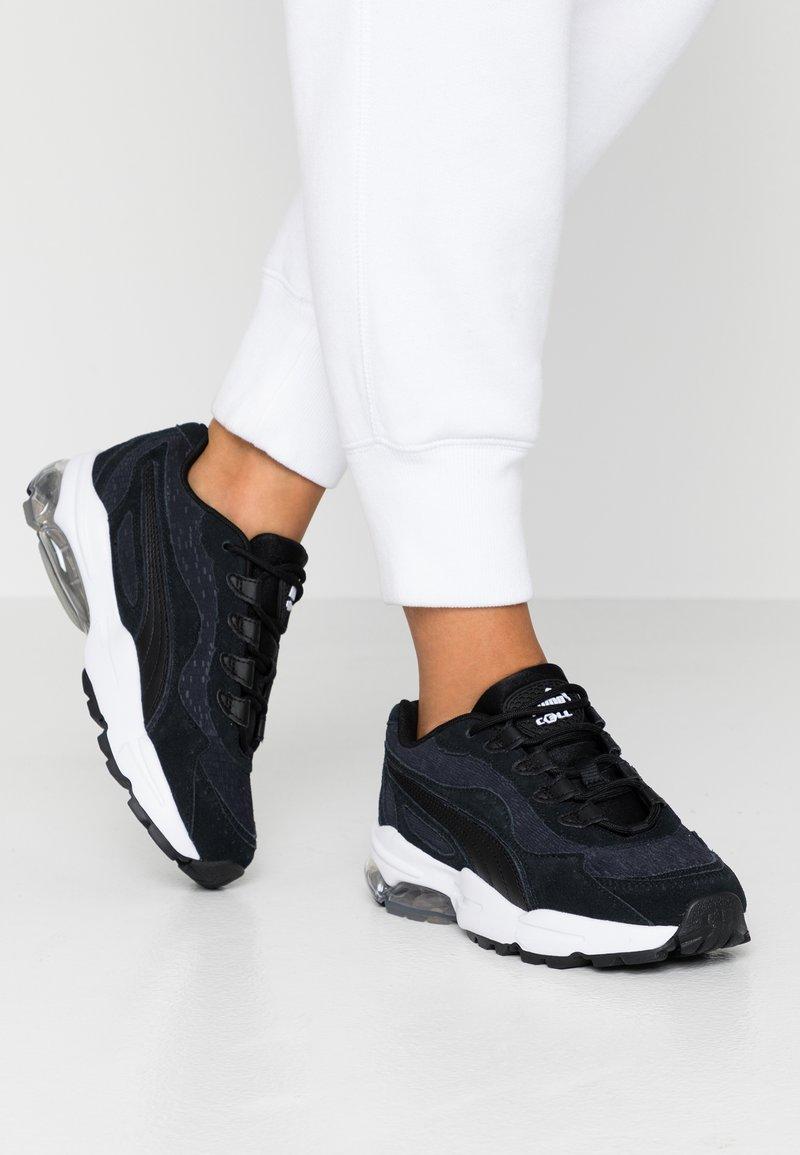 Puma - CELL STELLAR TONAL - Sneakers laag - black/team gold