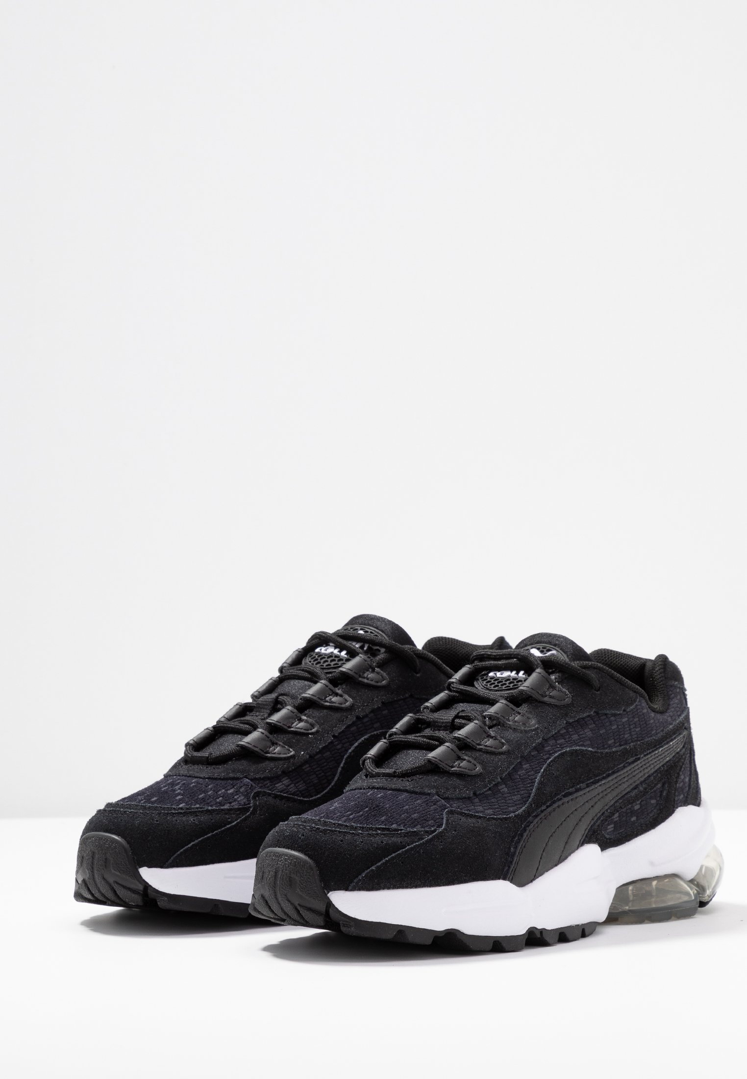 CELL STELLAR TONAL - Sneakers laag - black/team gold
