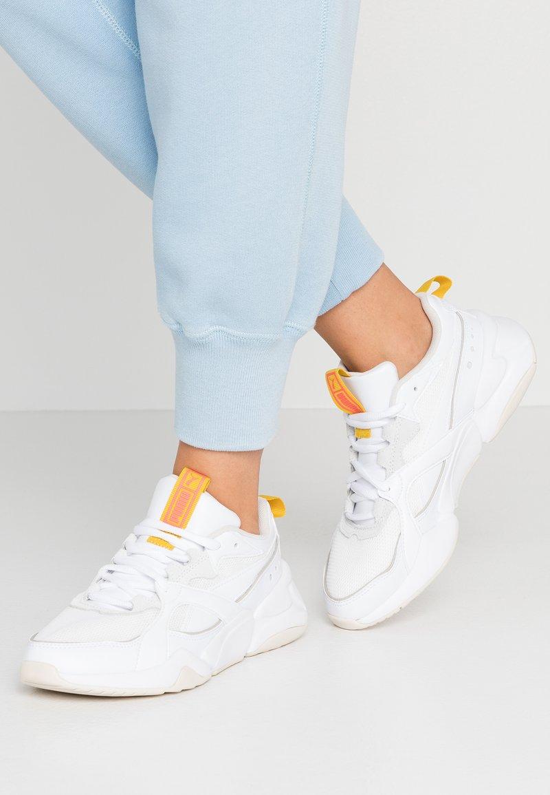 Puma - NOVA - Sneakers laag - white