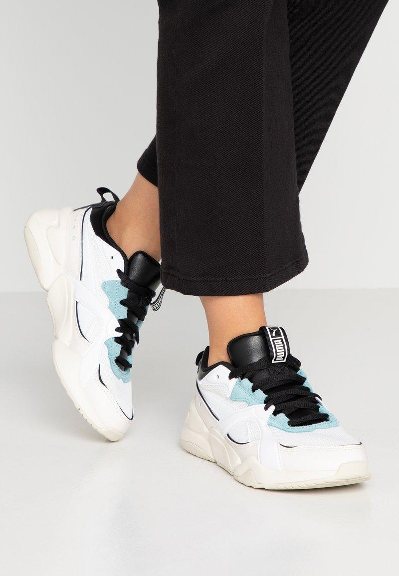 Puma - NOVA - Sneaker low -  white/pastel parchment