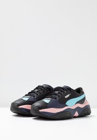 Puma - STORMY METALLIC - Zapatillas - black - 4