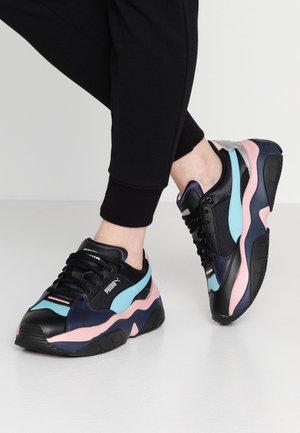 STORMY METALLIC - Sneakers laag - black