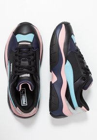 Puma - STORMY METALLIC - Zapatillas - black - 3