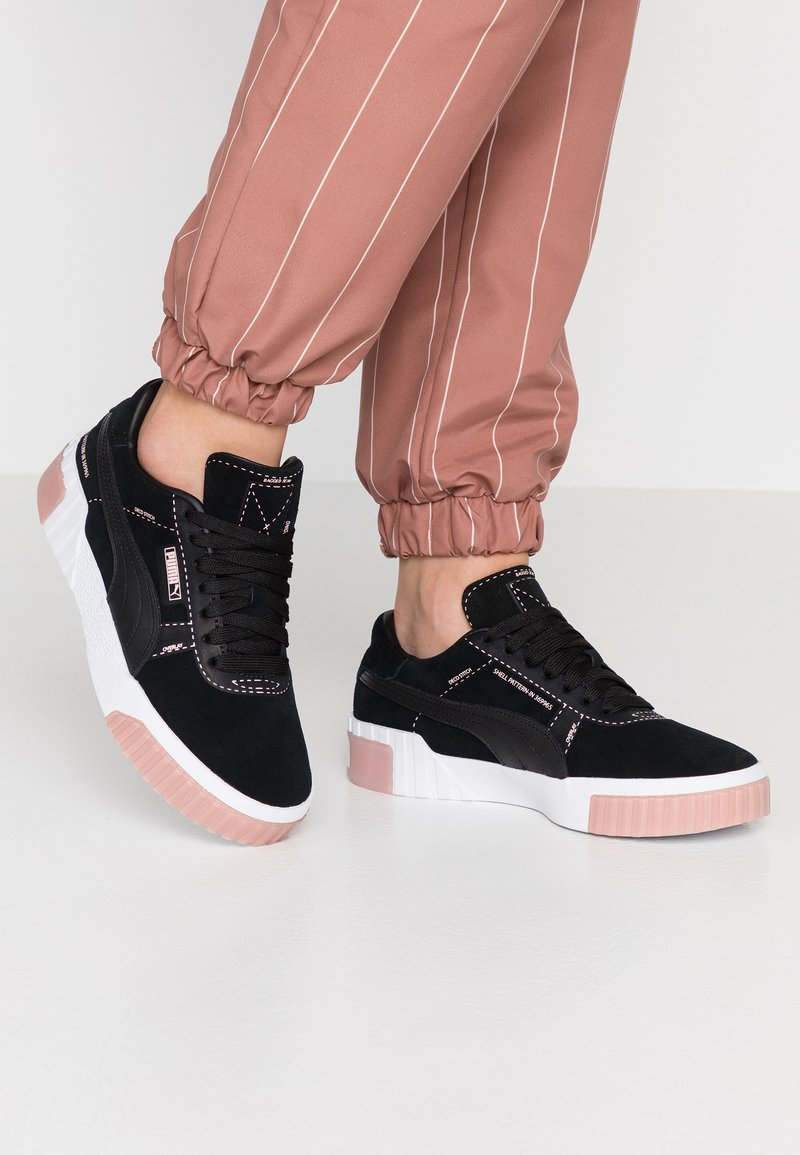Puma - CALI PATTERNMASTER - Sneaker low - black