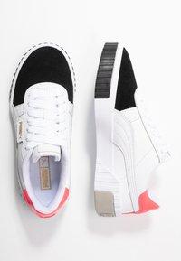 Puma - CALI REMIX - Baskets basses - white/black - 3