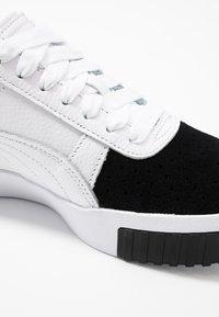 Puma - CALI REMIX - Baskets basses - white/black - 2