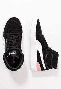 Puma - RALPH SAMPSON MID - Sneakersy wysokie - black/bridal rose - 3