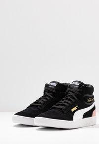 Puma - RALPH SAMPSON MID - Sneakersy wysokie - black/bridal rose - 4