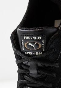 Puma - RS 9.8 METALLIC - Trainers - black heather - 2