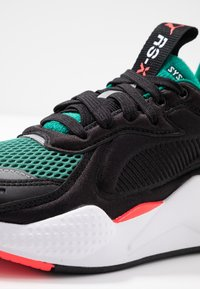 Puma - RS-X SOFT CASE - Sneakers laag - black/cadmium green - 2