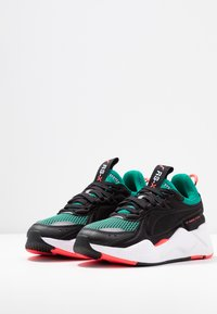 Puma - RS-X SOFT CASE - Sneakers laag - black/cadmium green - 4