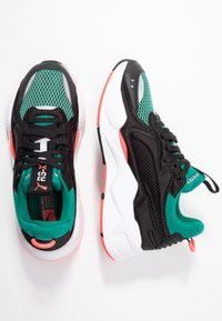 Puma - RS-X SOFT CASE - Sneakers laag - black/cadmium green - 3