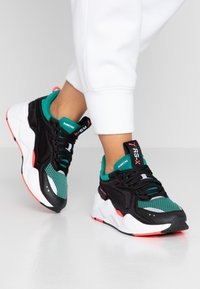 Puma - RS-X SOFT CASE - Sneakers laag - black/cadmium green - 0