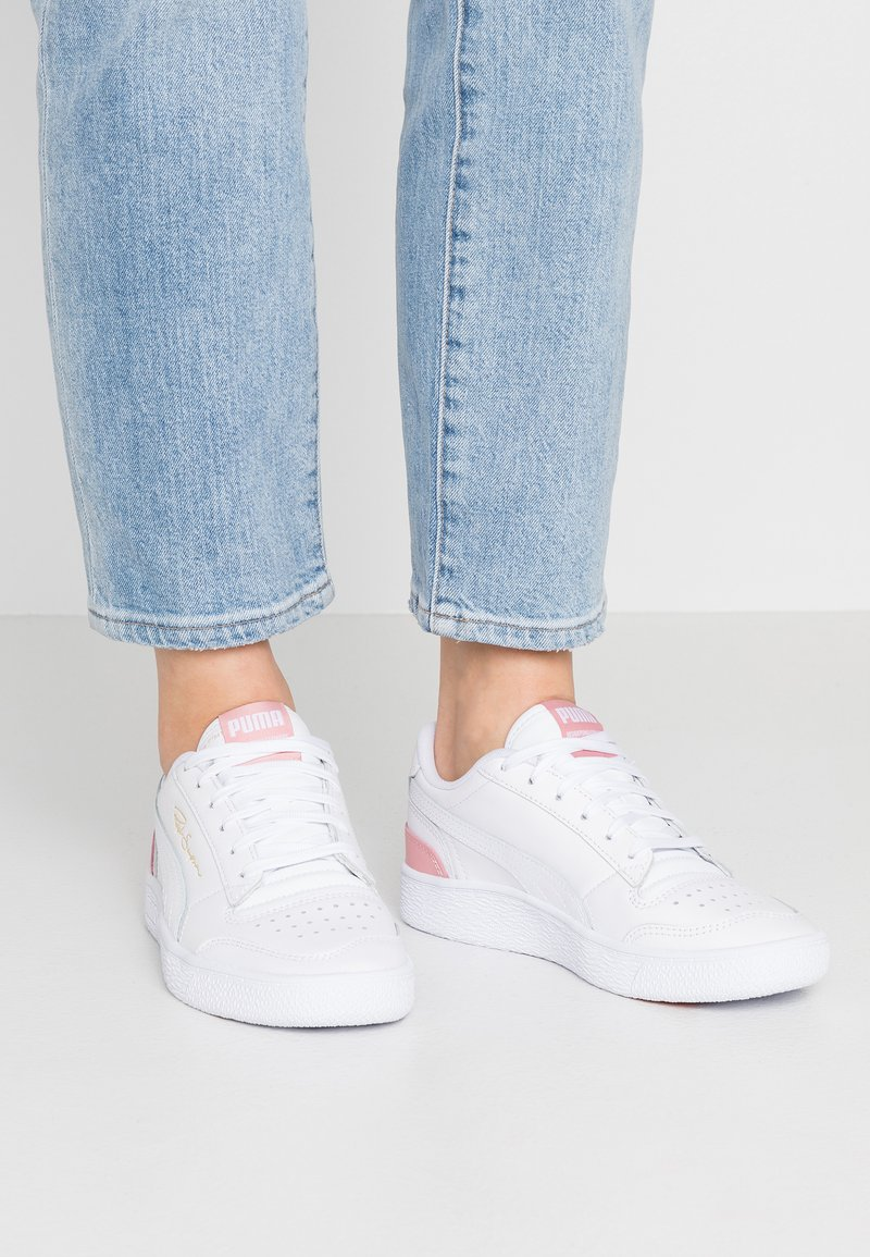 Puma - RALPH SAMPSON - Sneaker low - white/bridal rose