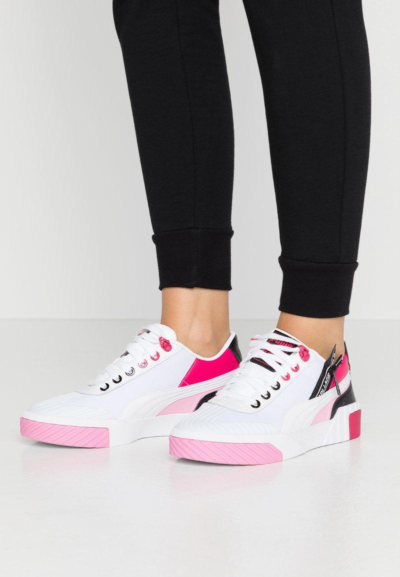 Puma - CALI KARL - Trainers - white/prism pink