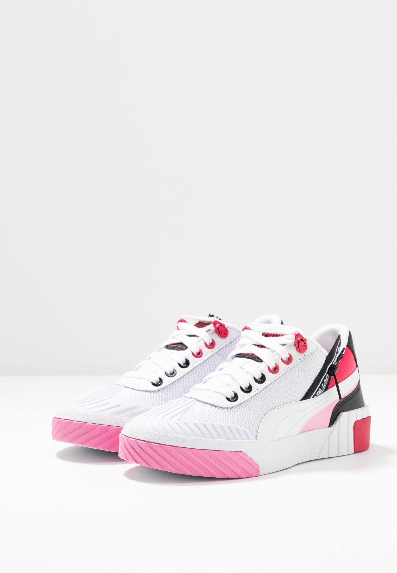 CALI KARL - Sneakers laag - white/prism pink