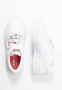 Puma - CALI HELLO-KITTY  - Sneakers laag - white/prism pink - 3