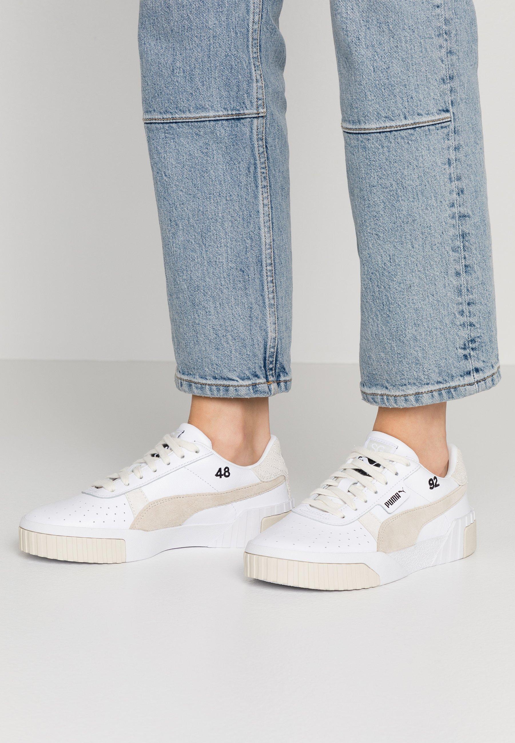 Puma CALI SELENA GOMEZ Sneaker low whitesilver gray