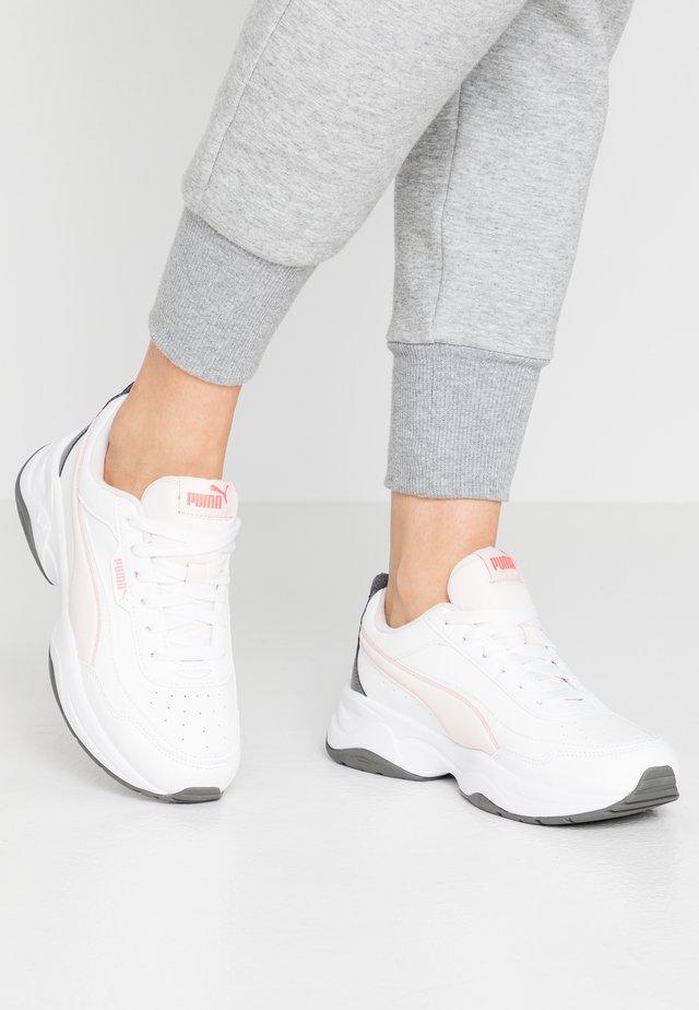 CILIA MODE - Sneakers - puma white/rosewater/castlerock/sun kissed coral