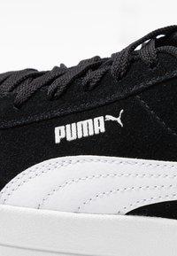 Puma - CARINA - Sneaker low - black/silver - 2