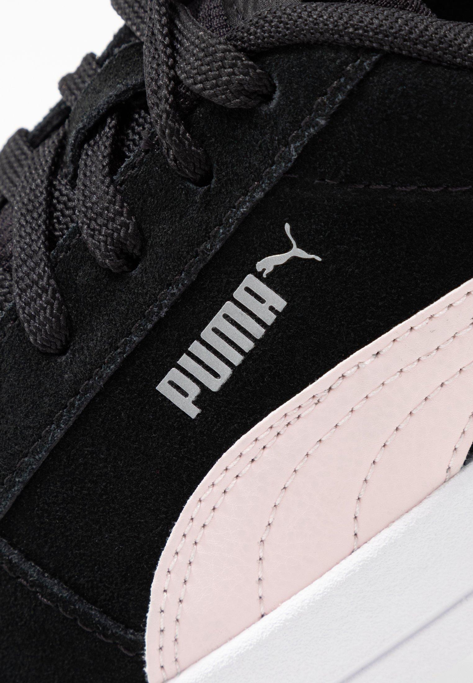 Puma CARINA - Sneakers - black/rosewater/silver