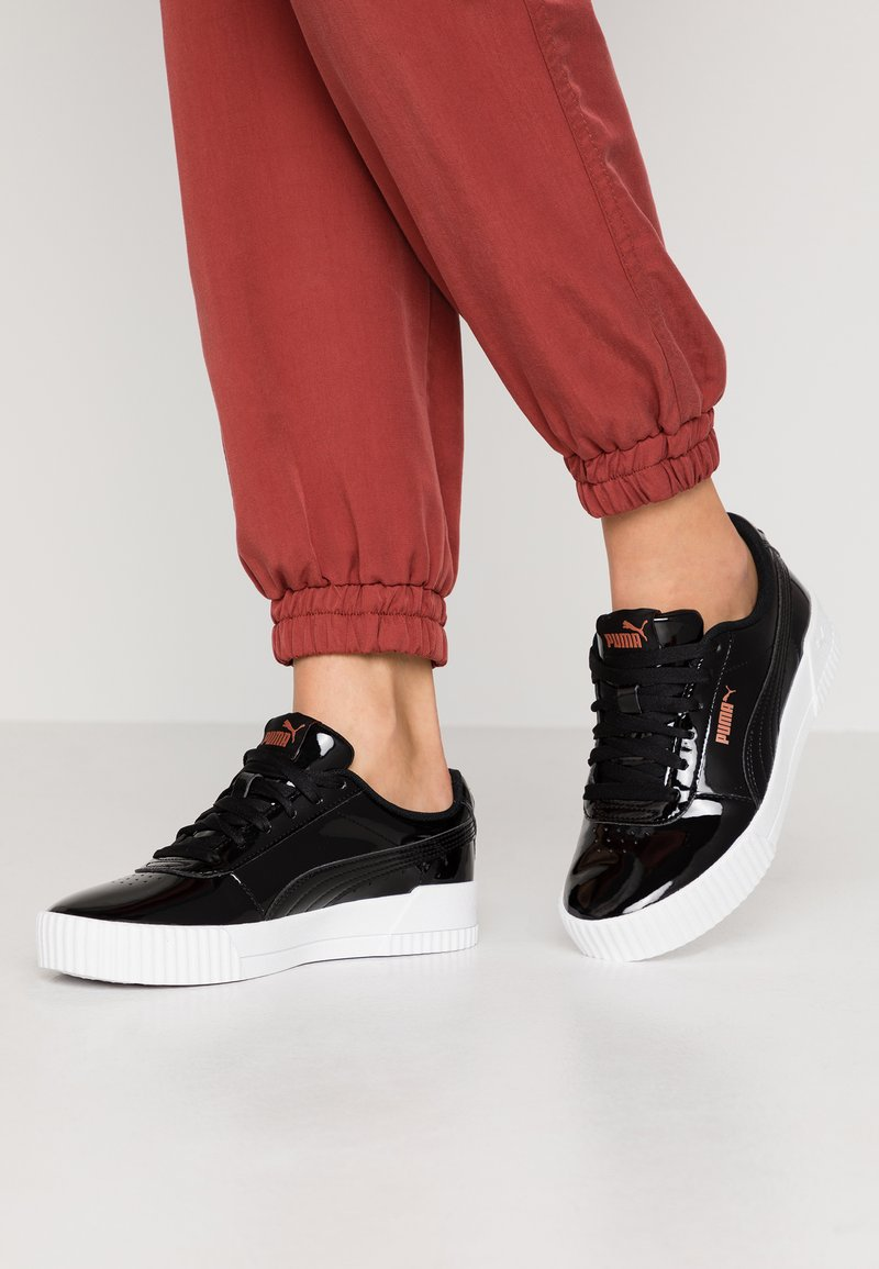 Puma - CARINA  - Sneakers laag - black
