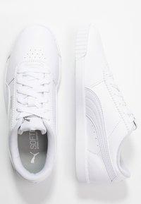 Puma - CARINA SLIM - Sneakersy niskie - white - 3