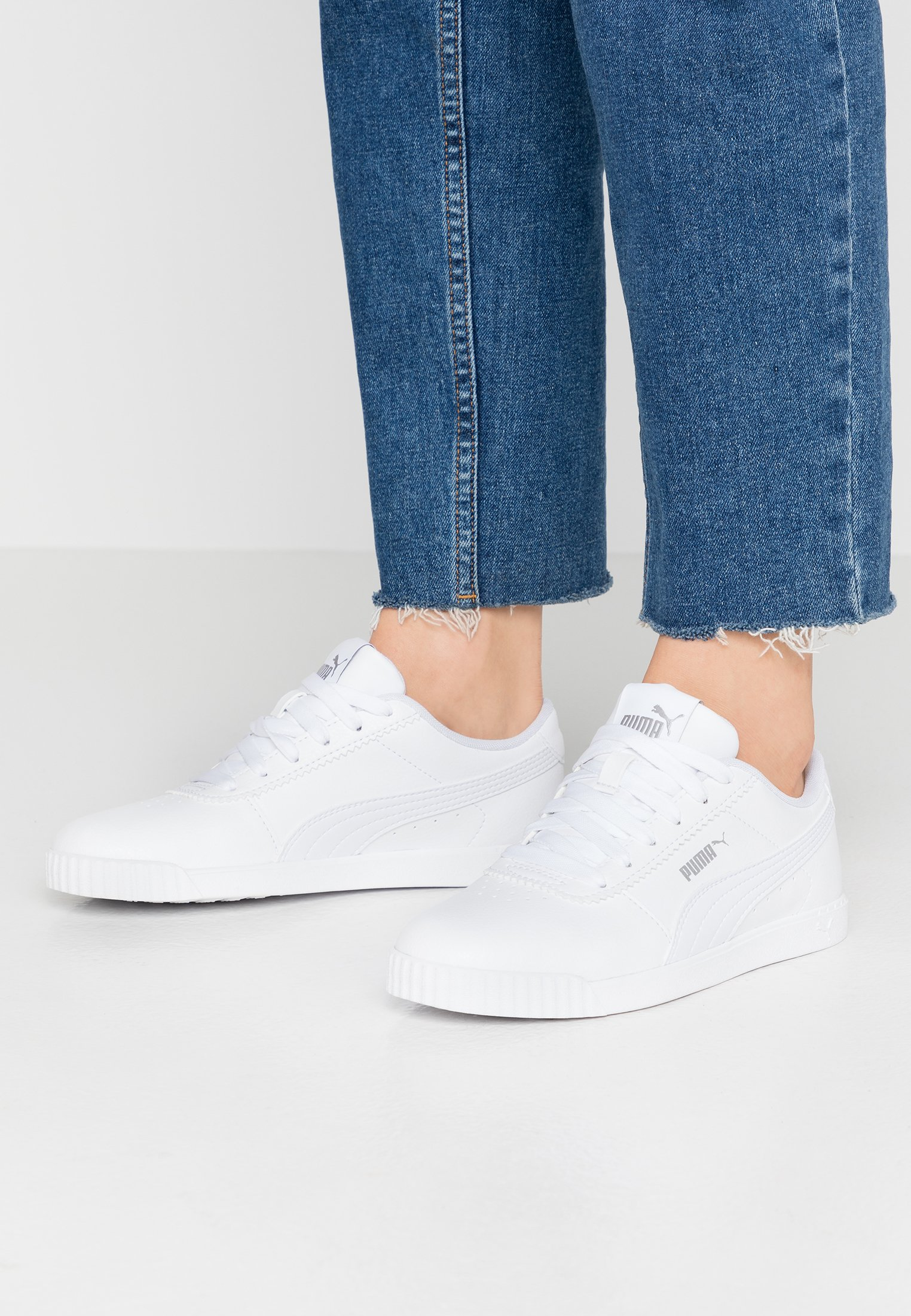 CARINA SLIM - Sneakers laag - white
