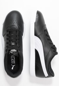 Puma - CARINA SLIM - Baskets basses - black/white - 3
