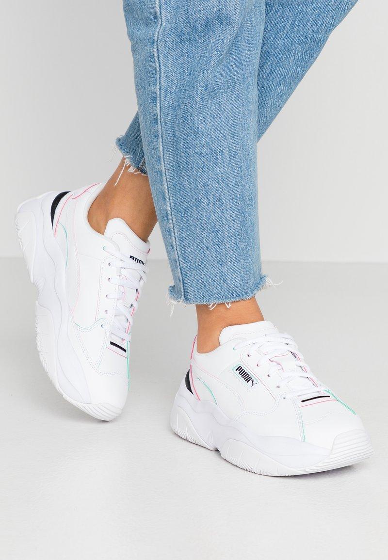 Puma - STORM.Y POP - Baskets basses - white