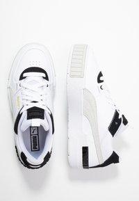 Puma - CALI SPORT MIX - Trainers - white/black - 3