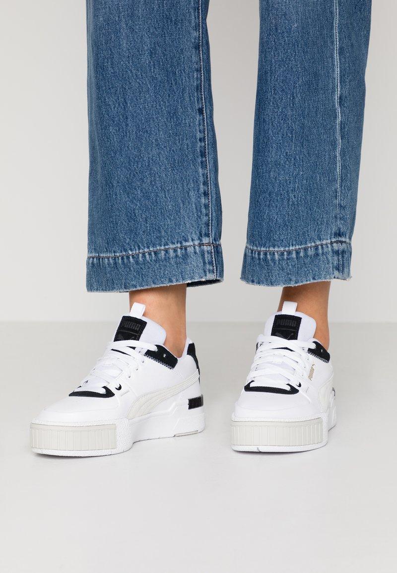 Puma - CALI SPORT MIX - Sneakers laag - white/black