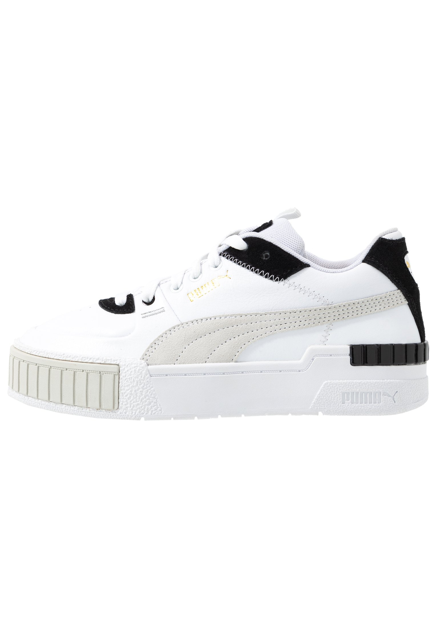 CALI SPORT MIX - Sneakers laag - white/black