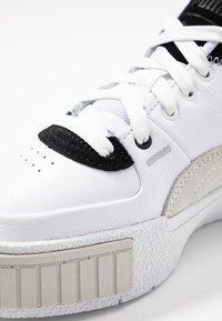 Puma - CALI SPORT MIX - Sneakers laag - white/black - 2