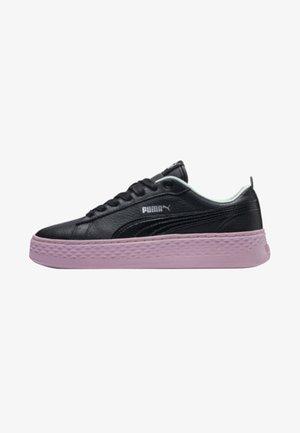 SMASH  - Sneakers laag - pumablack-fair aqua-palepink