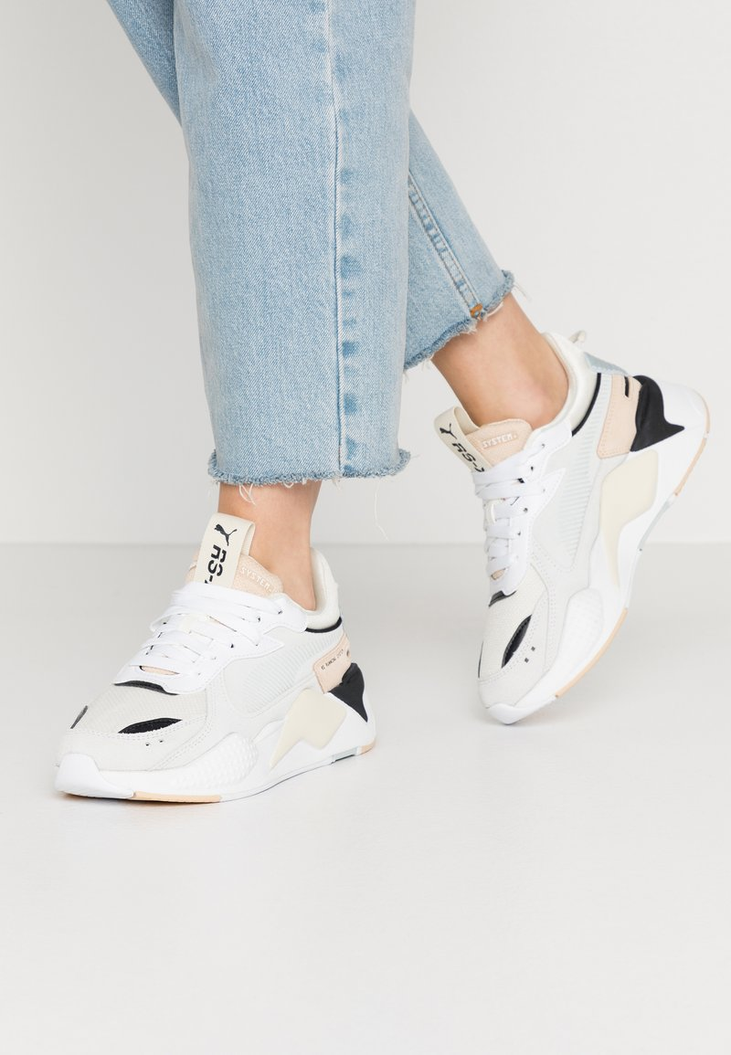 Puma - RS-X REINVENT - Sneakers - white/natural