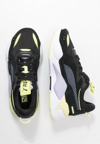 Puma - RS-X REINVENT - Baskets basses - black/purple heather - 3