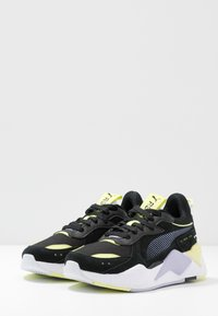Puma - RS-X REINVENT - Zapatillas - black/purple heather - 4