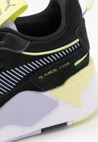 Puma - RS-X REINVENT - Baskets basses - black/purple heather - 2