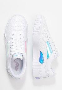 Puma - CALI GLOW  - Baskets basses - white - 3