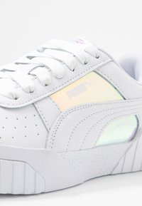 Puma - CALI GLOW  - Baskets basses - white - 2